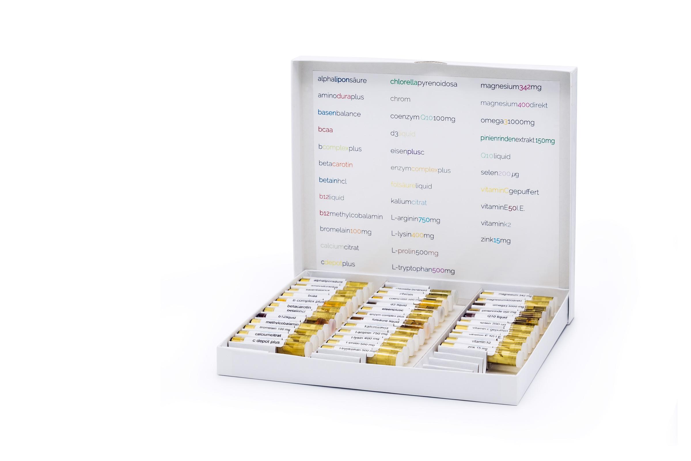 Testsatz für Bioresonanz, Funktionelle Myodiagnostik / Applied Kinesiology (AK)