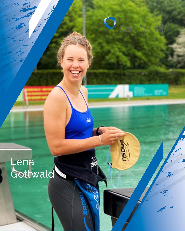 Foto Sportler Lena Gottwald Schwimmen